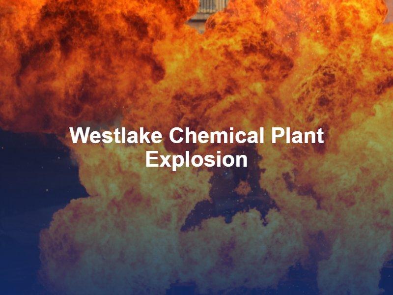 Louisiana chemical plant explosion
